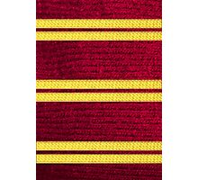 Knitted Scarf - Gryffindor Photographic Print