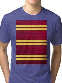 Knitted Scarf - Gryffindor Tri-blend T-Shirt