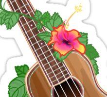 Ukulele - Koa Bella Sticker