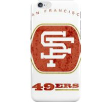 Retro 49'ers 3 iPhone Case/Skin