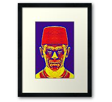 Boris Karloff, alias in The Mummy Framed Print