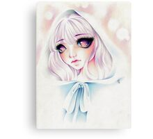 Little White Riding Hood Canvas Print