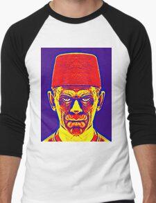 Boris Karloff, alias in The Mummy Men's Baseball ¾ T-Shirt