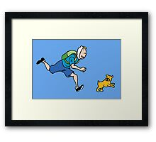 The Adventures of FinnFinn Framed Print