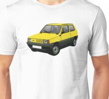 Fiat Panda 30/45 yellow Unisex T-Shirt