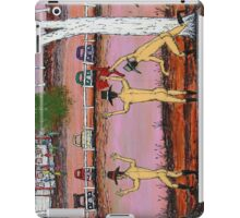 """Skinny Dip at Pink Lake""  Australia; iPad iPad Case/Skin"