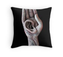 Listening Deeply Throw Pillow