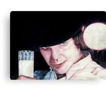 Malcolm McDowell Clockwork Orange portrait Canvas Print