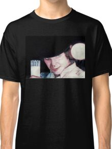 Malcolm McDowell Clockwork Orange portrait Classic T-Shirt