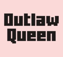 Once Upon a Time - Outlaw Queen Kids Tee