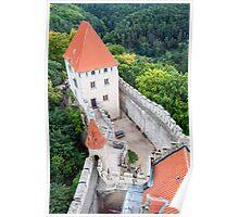 Kokorin castle. Poster