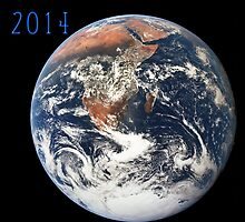 Planet Earth Views from Space Calendar for 2014 by JimPlaxco