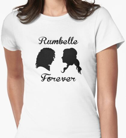 Rumbelle Forever Womens Fitted T-Shirt