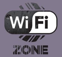Graphic Design T-Shirts WiFi Zone  Kids Tee