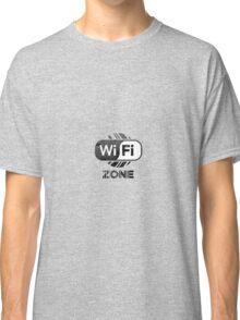 Graphic Design T-Shirts WiFi Zone  Classic T-Shirt