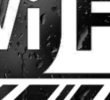 Graphic Design T-Shirts WiFi Zone  Sticker