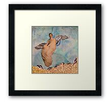 Among The Galaxies Framed Print