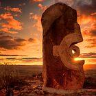 Broken Hill - Living Desert sculptures by Chris Brunton