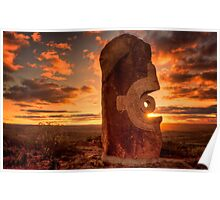 Broken Hill - Living Desert sculptures Poster