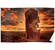 Broken Hill - Living Desert sculptures Poster