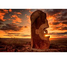 Broken Hill - Living Desert sculptures Photographic Print