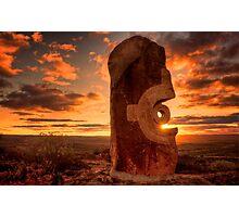 Broken Hill - Living Desert sculptures Photographic Print