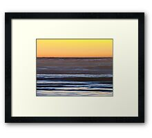 Breath In and Breath Out  Framed Print