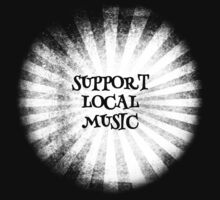 Support Local Music Inverted Kids Tee