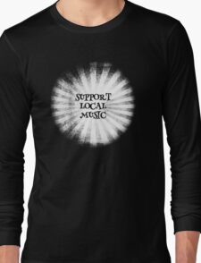 Support Local Music Inverted Long Sleeve T-Shirt