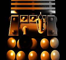 Dalek Galaxy by Robin Brown