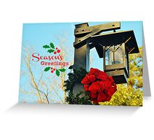 Season's Greetings - greeting card Greeting Card