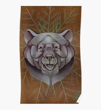 Bear. Poster