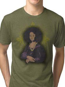 African Mona Lisa Tri-blend T-Shirt