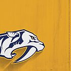 Nashville Predators Minimalist Print by SomebodyApparel