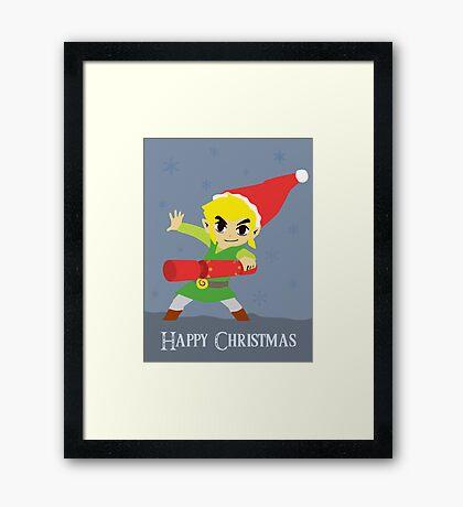 Hyrule Holidays Framed Print