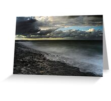 Threatening sky Greeting Card