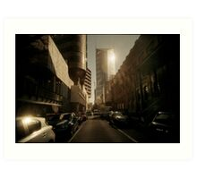 Little Lonsdale, Lighted Art Print