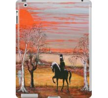 """Ned Kelly's Scary Night Ride"" Australia; iPad Case iPad Case/Skin"