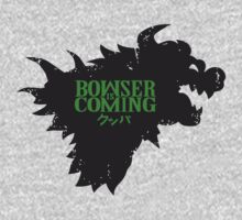 Bowser Is Coming!  by Noobtubers