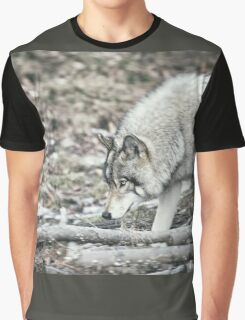 Timber Wolf Onto Something Graphic T-Shirt