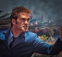 Dr. Who goes to war by Harley Rustin