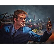 Dr. Who goes to war Photographic Print