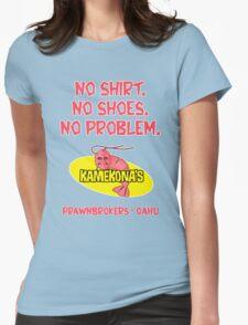 Kamekona's (no shirt...) Womens Fitted T-Shirt