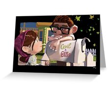 UP Carl and Ellie Greeting Card