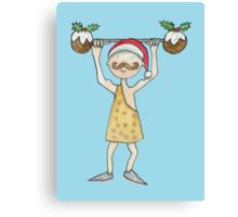 Christmas Strongman  Canvas Print