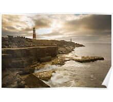 Portland Bill Seascapes Poster