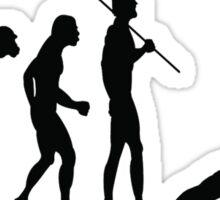 EVOLUTION TO CRICKET Sticker