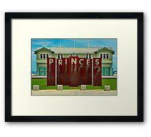 Princes Framed Print