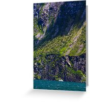 Milford Sound, Scale Greeting Card
