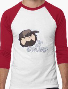I'M NOT SO GRUMP - Jon Game Grumps Classic - JONTRON - EGORAPTOR Men's Baseball ¾ T-Shirt
